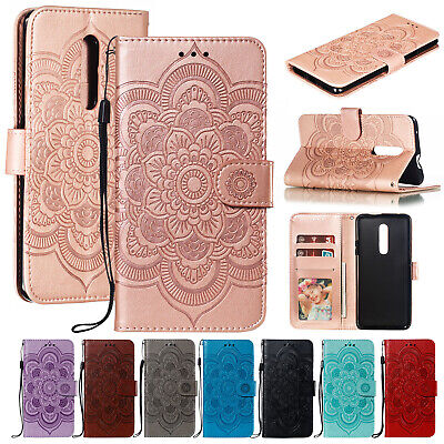 For OnePlus 7 Case OnePlus 7 Pro Luxury Magnetic Leather Wallet Stand Flip Cover