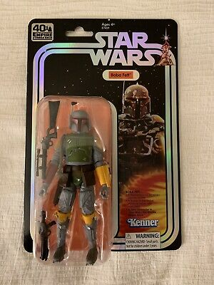 "In Hand! SDCC 2019 Exclusive Hasbro Star Wars The Black Series Boba Fett 6"" Fig"