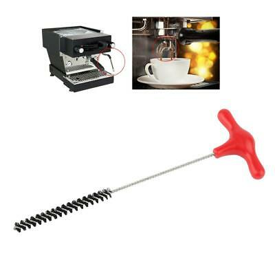 Stainless Steel Tube Brush Pipe Cleaning Brush Tool for Coffee Grinder Steam