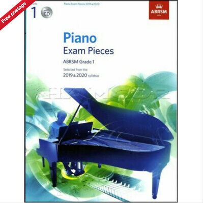 ABRSM Piano Exam Pieces Book & CD 2019 - 2020, Grade 1. BRAND NEW - BOOK AND CD