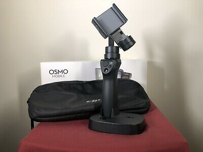 DJI Osmo Mobile Gimbal Stabilizer for Smartphones (Black) Excellent Condition
