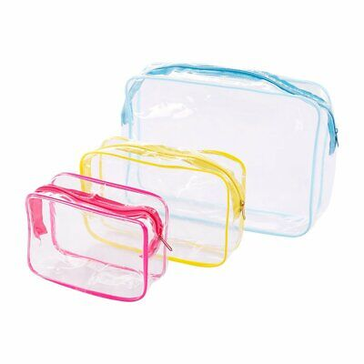 Portable transparent waterproof wash bag BC