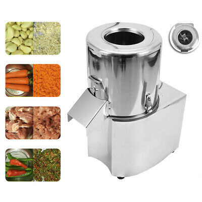 550W 220V Electric Vegetable Chopper Grinder Commercial Food Processor Machine