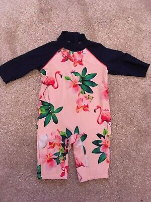 Baby Girl Ted Baker 3-6 Months Swimming Costume Cover Up