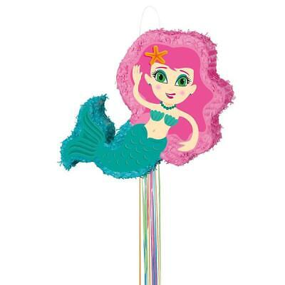 Mermaid Pinata, Pull String