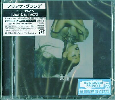 ARIANA GRANDE-THANK U. NEXT-JAPAN CD Ltd/Ed E25