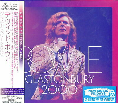 David Bowie-Glastonbury 2000-Japan 2 Cd G35