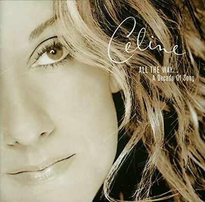 CELINE DION-ALL THE WAY... A DECADE OF SONG-JAPAN CD Ltd/Ed B63
