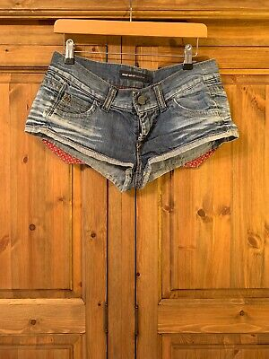 Miss Sixty Jean Hot pants Super Short shorts Denim Faces