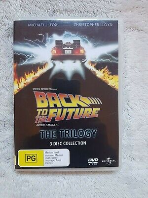 Back To The Future The Trilogy DVD