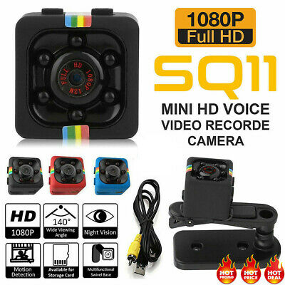 SQ11 1080P Full HD Mini Car Hidden DV DVR Camera Spy Dash Cam IR Night Vision US