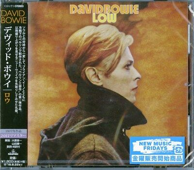 DAVID BOWIE-LOW (2017 Remastered)-JAPAN CD D73