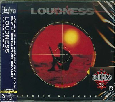Loudness-Soldier Of Fortune-Japan Cd C94
