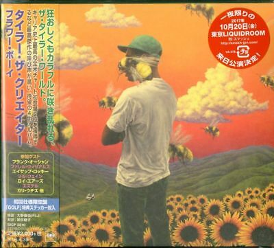 TYLER. THE CREATOR-SCUM FXXK FLOWER BOY-JAPAN MINI LP CD Ltd/Ed E78