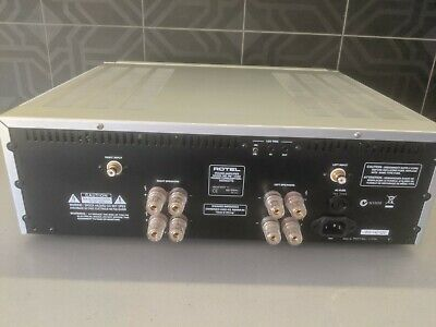 Rotel Rb-1582 Stereo Power Amplifier