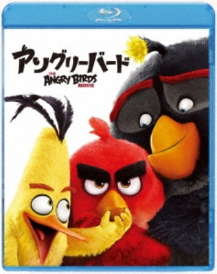 ANIME-THE ANGRY BIRDS MOVIE-JAPAN Blu-ray C62