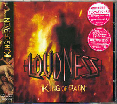 Loudness-King Of Pain-Japan Cd H00