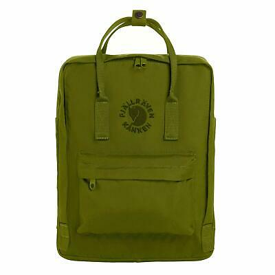 Fjallraven Re-Kanken Special Edition Recycled Backpack for Everyday Spring Green