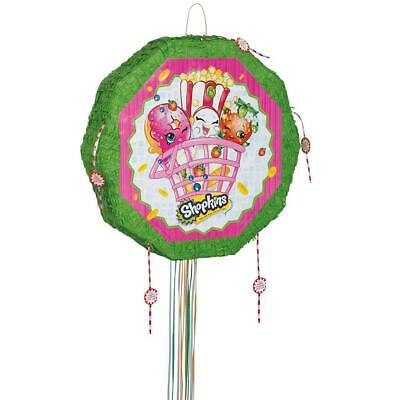 Unique Party Shopkins Pinata, Pull string