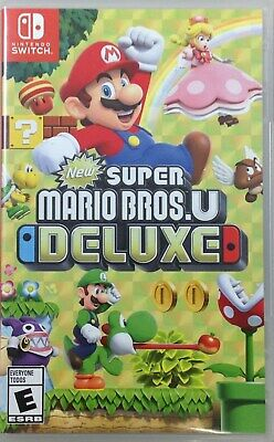 SUPER MARIO BROS  U Deluxe (Nintendo Switch, 2019) (8840-SM57)