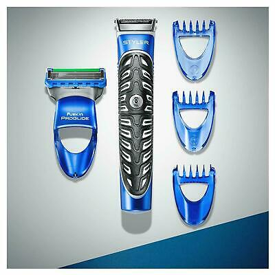 Gillette Fusion Proglide Shaving Styler 3 in 1 Razor Beard Trimmer Edging Blade