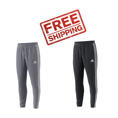 ADIDAS Tiro 19 Men's Training Pants Gray and Black - FREE SHIPPING -