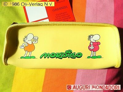 💛 MORDILLO © Oli Verlag Vintage 1986 Astuccio Portapenne Pencil Case PERFECT!💎
