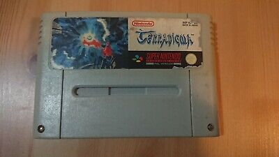 Terranigma SNES PAL AUS Super Nintendo Game *Very Rare & Collectable*