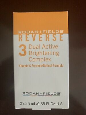 NEW Rodan + and Fields Reverse Step 3 Dual Active Brightening Complex Vitamin C