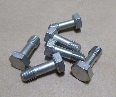 """6p. PERSONAL & TIRE CHAIN BOXES 3/8-16 x 1"""" STAINLESS BOLTS M915A2 M916A1 M916A2"""
