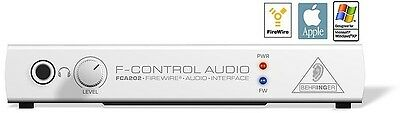 Behringer FCA202 F-Control Audio Interface - NEW!