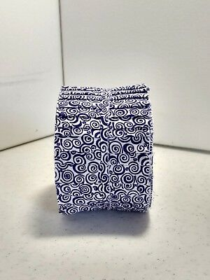 Purple Cotton Quilting Fabric Jelly Roll 2.5 inch strips 20  per pk.
