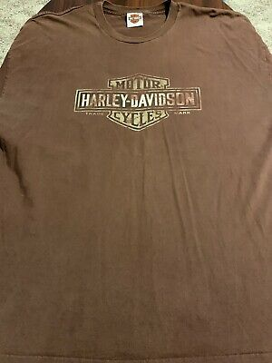 HARLEY DAVIDSON Spell Out Superstition Arizona Mens Motorcycle T Shirt 3XL XXXL