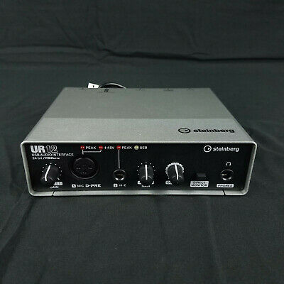 Steinberg UR12 USB 2.0 Audio Interface