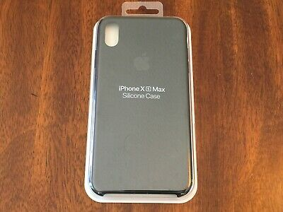 GENUINE Apple Silicone Case for iPhone XS Max MRWE2ZM/A - Black USED