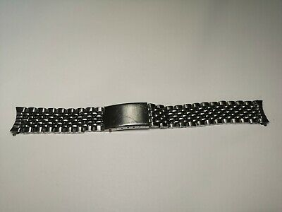 Vintage Mens Beads of Rice Watch Bracelet Strap from 1970s - Nice