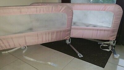 Summer Infant Grow with Me Single Bed Rail - Pink x2