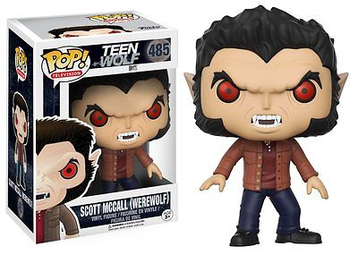 Scott Mccall Werewolf Teen Wolf Pop Television Vinyl Figure Funko New Vaulted