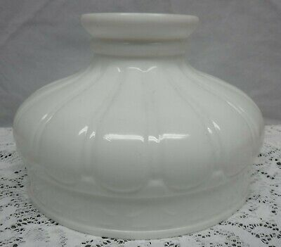 Vintage White Milk Glass Aladdin Rayo Coleman Lamp Shade Globe