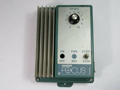 Emerson 2400-8000 DC Drive 90/180Vdc 10A 100/200Vdc 1A 50/60Hz 14A  USED