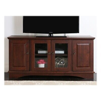 Open-Box Excellent: Walker Edison - Traditional TV Console for Most TVs Up to...