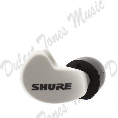 *NEW* Shure SE215 RIGHT EARBUD/DRIVER ONLY White Earphone *1ST CLASS POST*