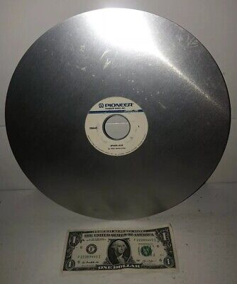 AS-IS Vtg SCRATCHED Arcade Video Game Laser Disc SPACE ACE Pioneer 1983 Magicom