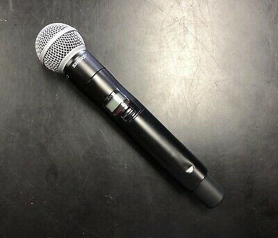 Shure QLXD2 SM58 Handheld Digital Wireless Microphone G50