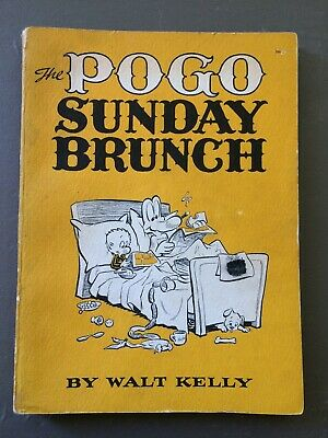 The Pogo Sunday Brunch by Walt Kelly, 1st Printing, 1959, Very Good Condition