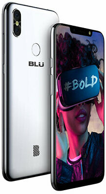 Blu Vivo One Plus 2019 Android Unlocked Cell Phone 6.2 HD Display 4G LTE 16GB M