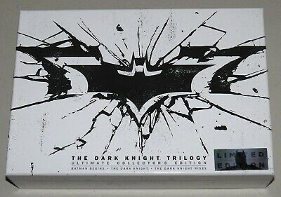 The Dark Knight Trilogy: Ultimate Collectors Box Set - Blu-ray, 2013 Limited Ed.
