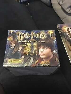 Panini Harry Potter And The Philosopher's Stone Sticker Album And Stickers