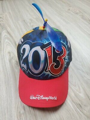 Walt Disney World 2013 Kids Hat With Helicopter Top Youth One Size Polyester
