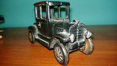 """Old Vintage/Antique  """"The AUTOMOBILE"""" Cast-Iron """"Ford?"""""""